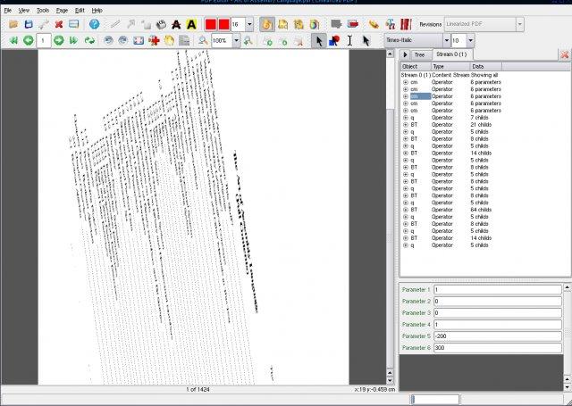 pdfedit screenshot